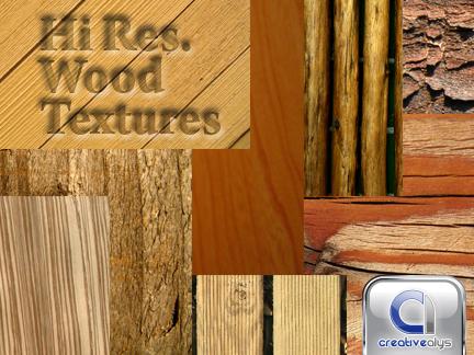 10 Hi resolution Wood Textures