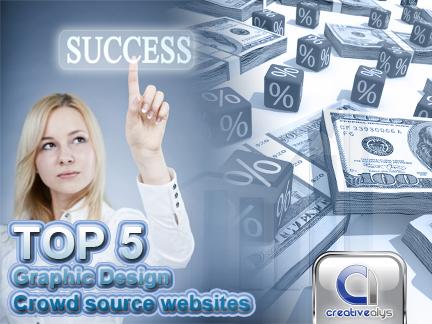Top 5 Graphic Design Crowd source websites