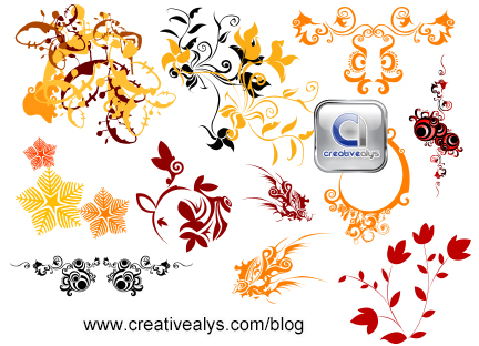 Floras for logo design