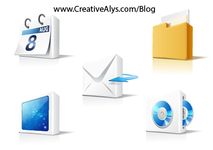 Creative 3D Icons